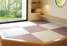 化学表の琉球畳の写真